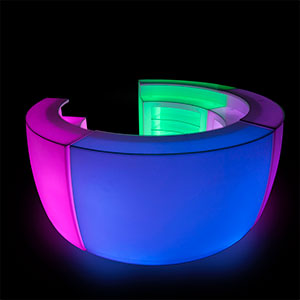 LED Full Bar Unit (4 Piece Circular) - Click for details
