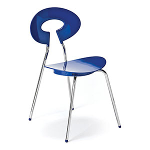 Carnaby Chair Blue - Click for details