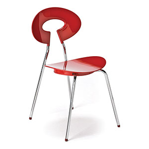 Carnaby Chair Red - Click for details