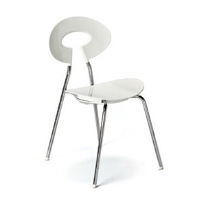 Carnaby Chair White - Click for details