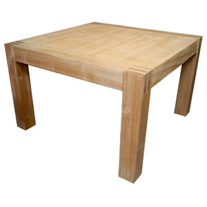 Saxon Oak Large Square Coffee Table - Click for details