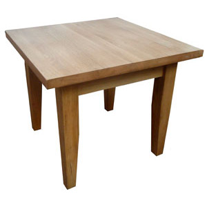 Saxon Oak Small Square Coffee Table - Click for details