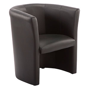 Club Black Armchair - Click for details