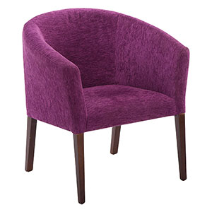 Purple Tub Chair - Click for details