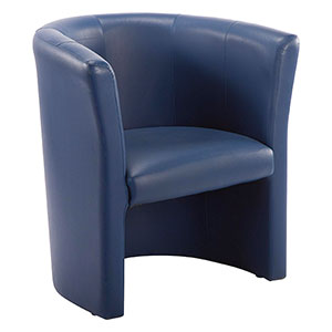 Club Blue Armchair - Click for details