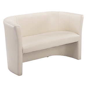 Club Cream Duo Sofa - Click for details