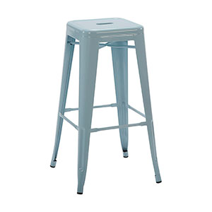 Tolix Stool Blue - Click for details
