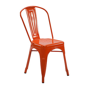 Tolix Chair Orange - Click for details