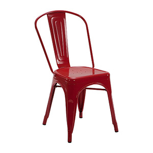 Tolix Chair Red - Click for details