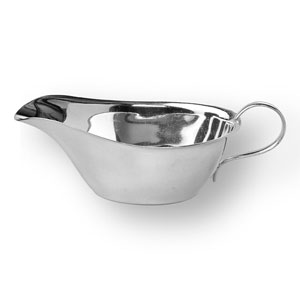 Silver Sauce Boat - Click for details