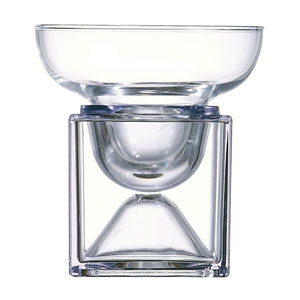 Cubix Margarita Glass Bowl