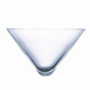 Cubix Martini Glass Bowl