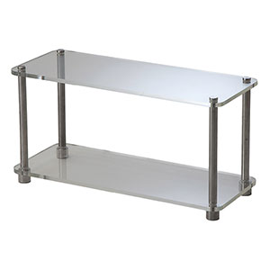 Perspex Tray 2-Tier Clear - Click for details