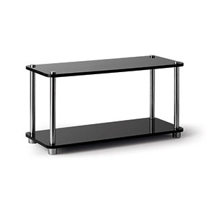 Perspex Tray 2-Tier Black - Click for details