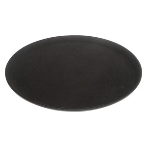Round Non-Slip Black Tray - Click for details