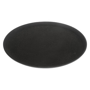 Black Non-Slip Round Tray - Click for details