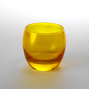 Globe Rock Glass Yellow - Click for details