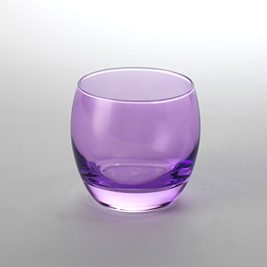 Globe Rock Glass Lilac