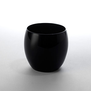 Globe Rock Glass Black - Click for details