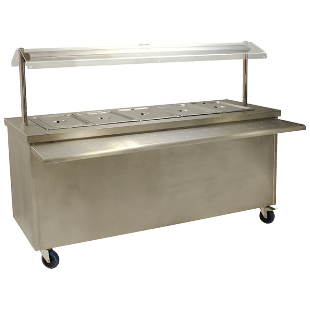 Hot Servery 1900mm Electric For Hire From Well Dressed Tables London