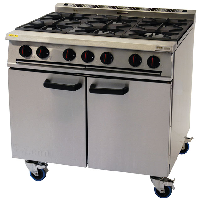 Kitchen For Rent: Six Burner Oven Range (Gas) For Hire From Well Dressed