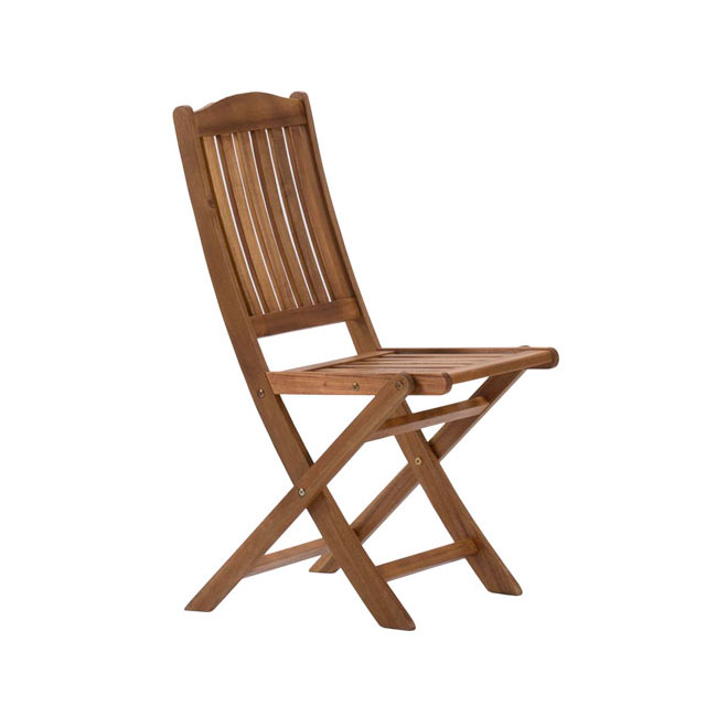 Richmond Garden Chair Wood for Hire from Well Dressed Tables London