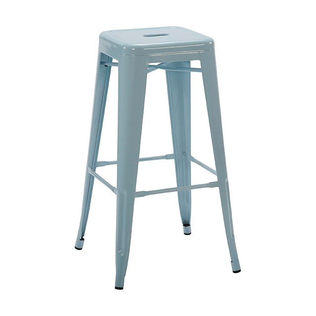 Tolix Stool Blue for Hire from Well Dressed Tables London : TH1001B from www.welldressedtables.co.uk size 640 x 640 jpeg 26kB