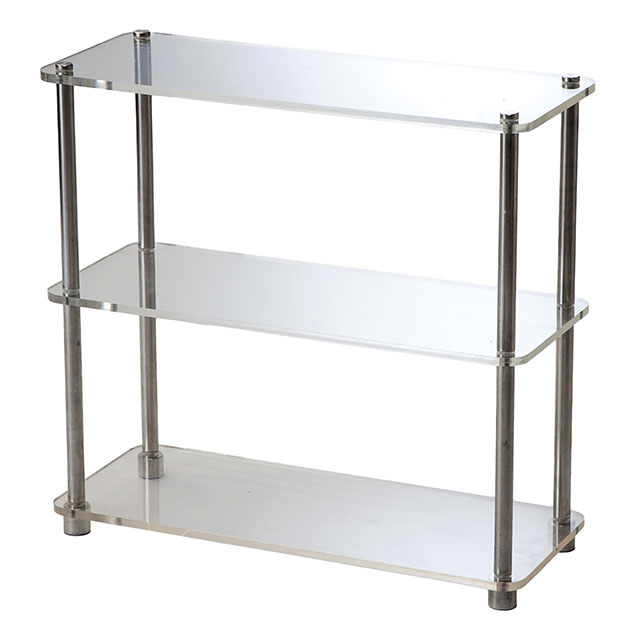 Perspex tray 3 tier clear for hire from well dressed for Perspex canape trays