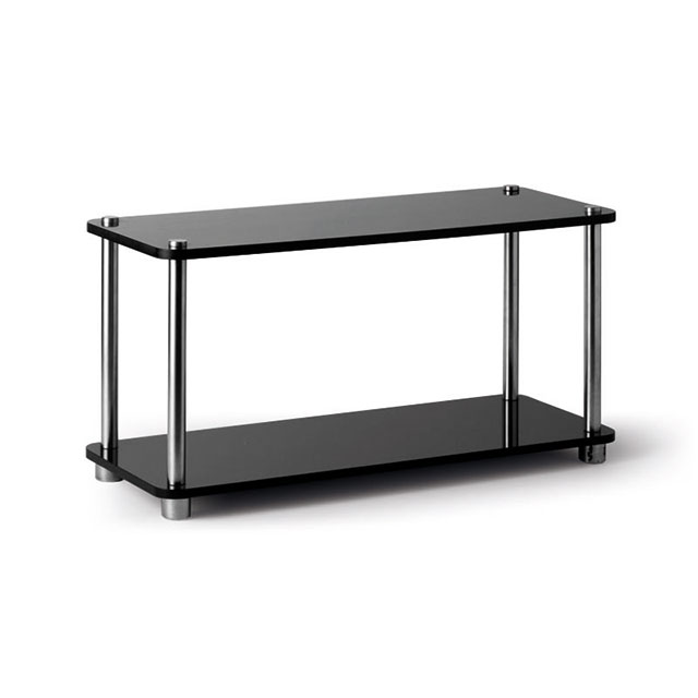 Perspex tray 2 tier black for hire from well dressed for Perspex canape trays