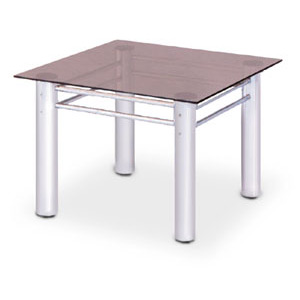 Stomy Chrome Square Coffee Table