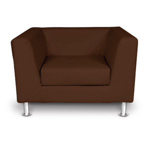 Edinburgh Brown Armchair