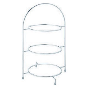 Chrome 3-Tier Cake Stand