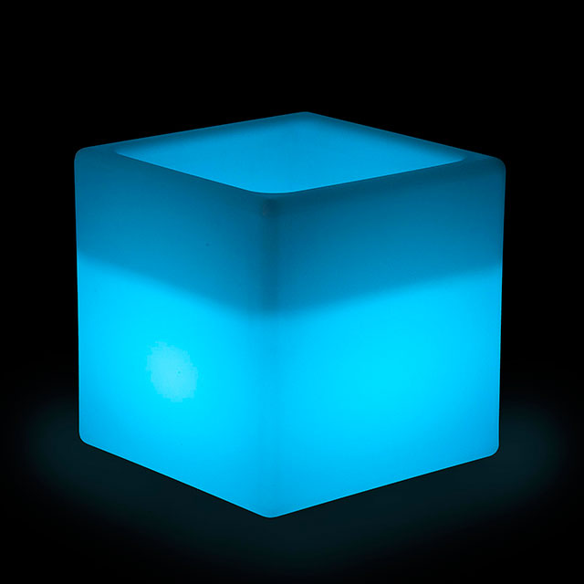 LED Square Ice Buckets