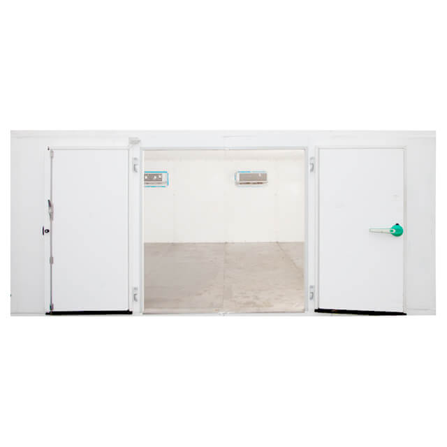 4.8x8.4 m Cold Room Freezer with Double Doors