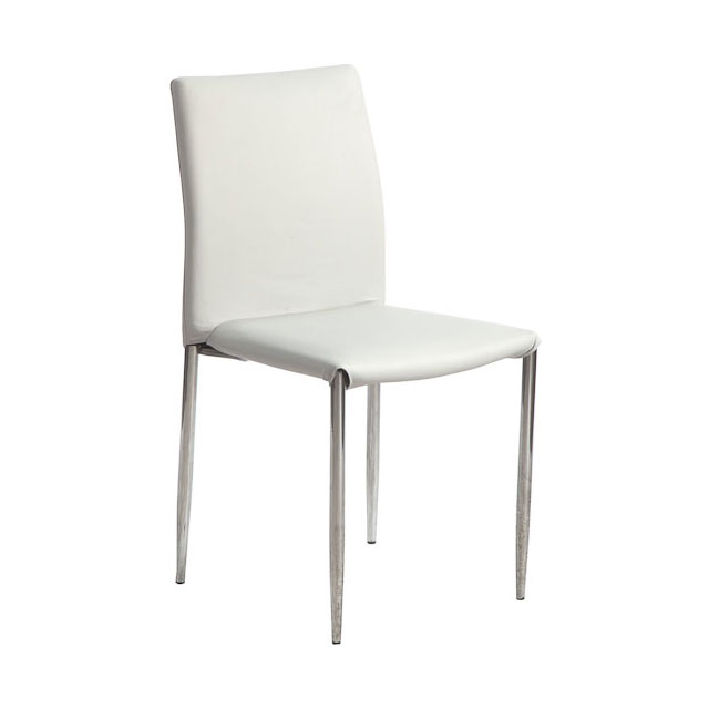 Spectre Chair White Faux leather