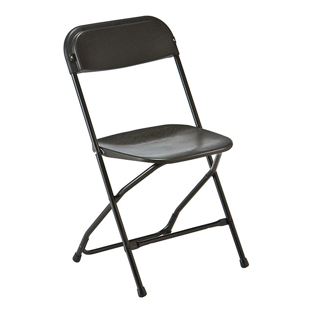 samsonite folding chair black for hire from well dressed tables london