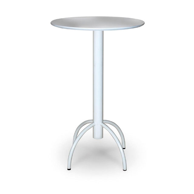 Saturn White Cocktail Table