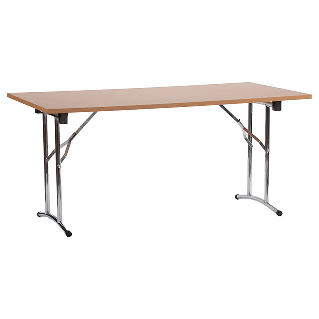 Omega Folding Beech Table