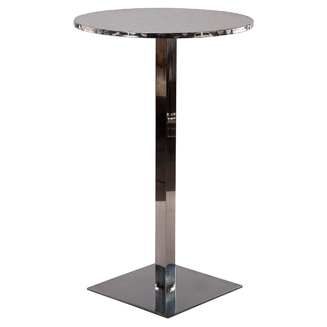 Pila Cocktail Square Base Table Round