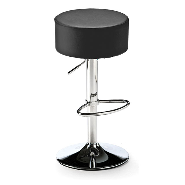 Button Stool Black