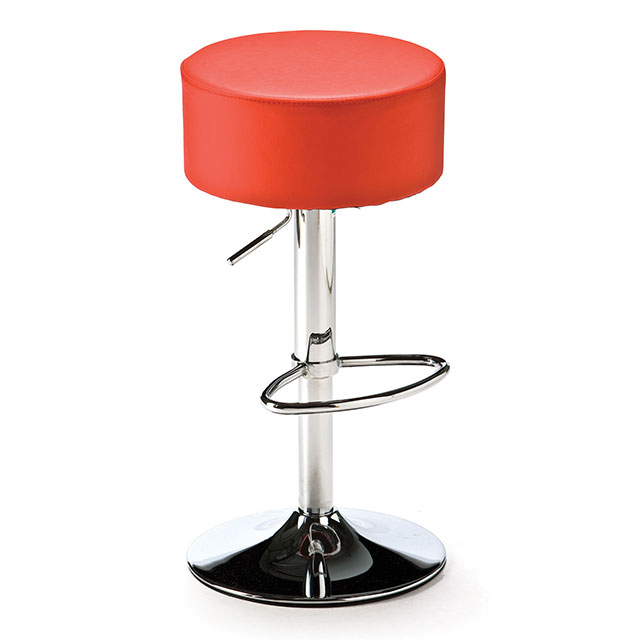 Button Stool Red