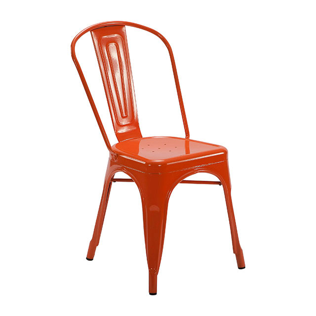 Tolix Chair Orange