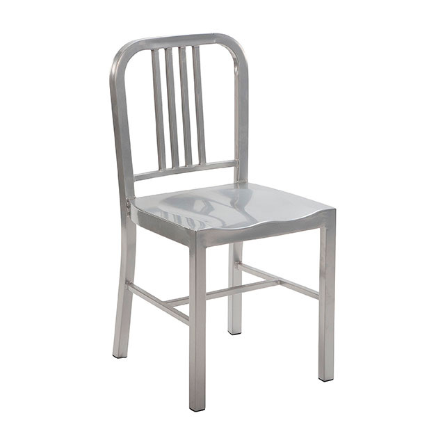 Tolix Navy Chair Silver
