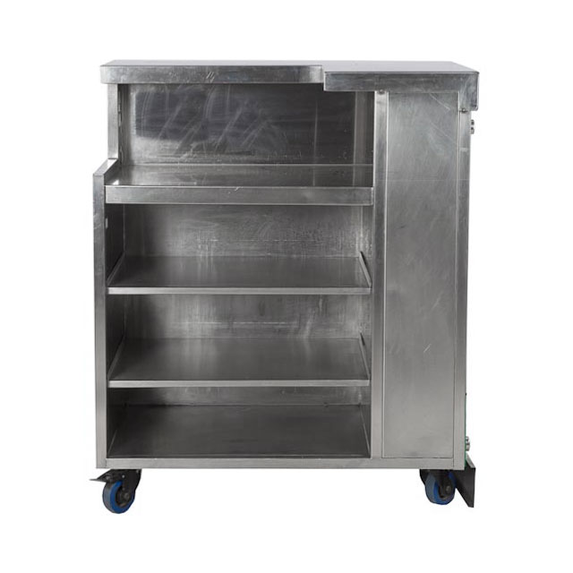 Corner Bar Unit 1.1m with L+R Shelving Only (2)