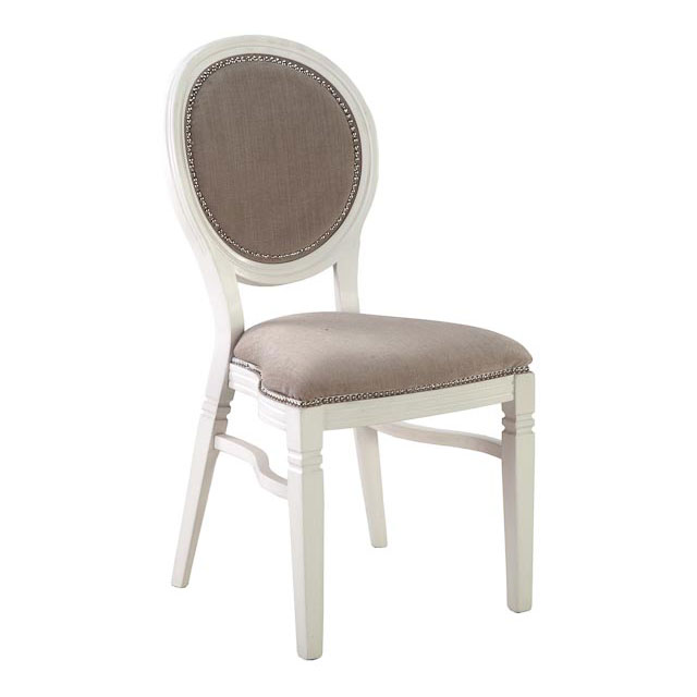 Clarmont Chair with Beige Seat Pad