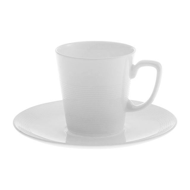 Fougère Coffee Cup (Demi Tasse) and Saucer