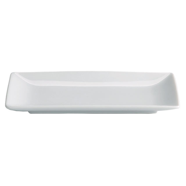 Small White Rectangle Plate