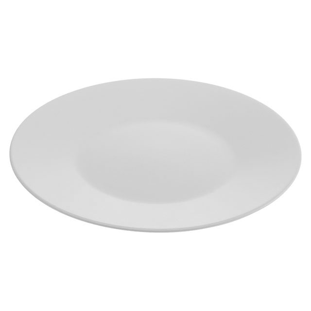 Reserve White Round Plate