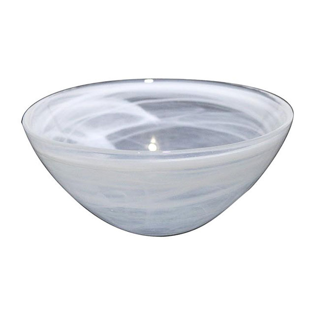 White Alabaster Bowl