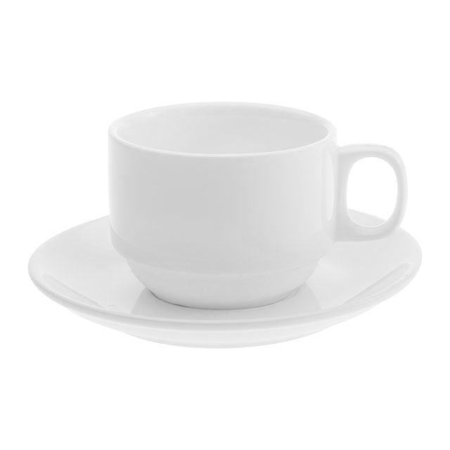 Orion Stacking Cup and Saucer